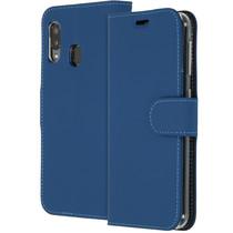 Accezz Étui de téléphone Wallet Samsung Galaxy A20e - Bleu