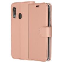 Accezz Étui de téléphone Wallet Samsung Galaxy A20e - Rose