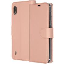 Accezz Étui de téléphone Wallet Samsung Galaxy A10 - Rose Champagne