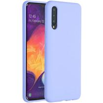 Accezz Coque Liquid Silicone Samsung Galaxy A50 / A30s - Violet