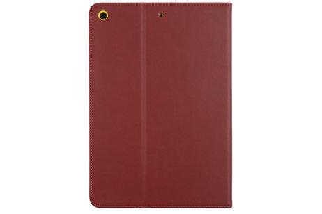 Gecko Covers Étui de tablette portefeuille Easy-Click pour l'iPad 10.2 (2019) - Brun