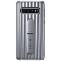 Samsung Coque Protective Standing Galaxy S10 - Argent