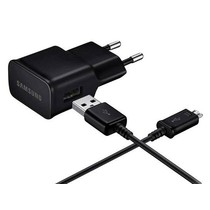 Samsung Adaptateur de charge 2A + câble micro-USB vers USB - Noir