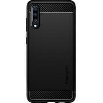 Spigen Coque Rugged Armor Samsung Galaxy A70 - Noir
