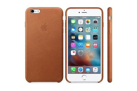 Apple Coque Leather pour l'iPhone 6(s) Plus - Saddle Brown