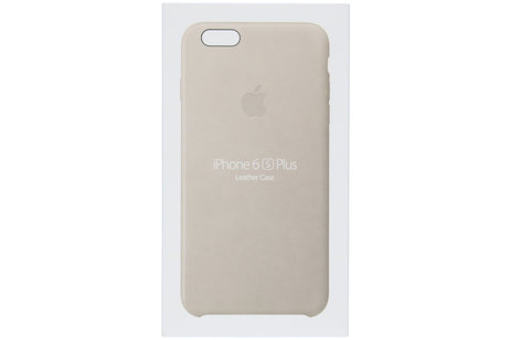 Apple Coque Leather pour l'iPhone 6(s) Plus - Rose Grey