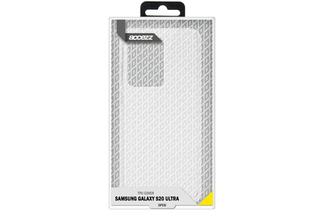 Samsung Galaxy S20 Ultra hoesje - Accezz Coque Clear pour