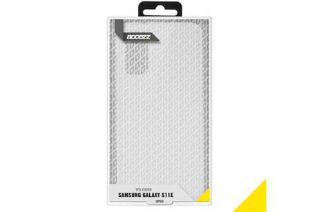 Samsung Galaxy S20 hoesje - Accezz Coque Clear pour