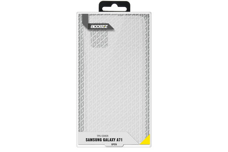 Samsung Galaxy A71 hoesje - Accezz Coque Clear pour