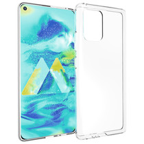 Accezz Coque Clear Samsung Galaxy S10 Lite - Transparent