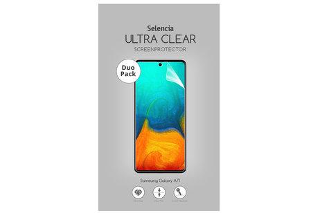 Selencia Protection d'écran Duo Pack Ultra Clear pour le Samsung Galaxy A71
