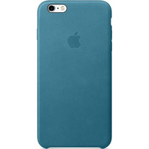 Apple Coque Leather iPhone 6(s) Plus - Marine Blue