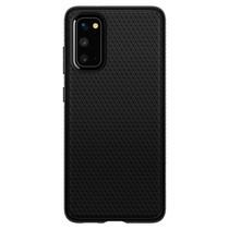 Spigen Coque Liquid Air Samsung Galaxy S20 - Noir