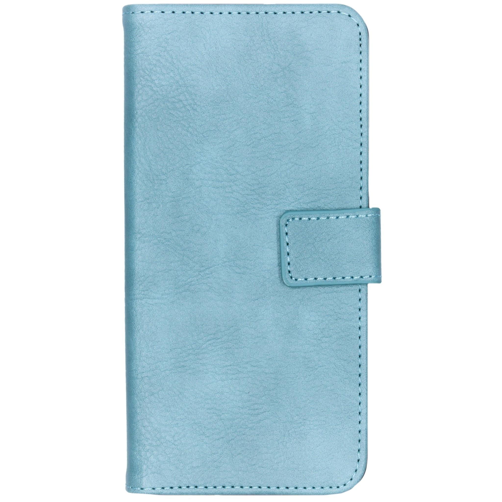 iMoshion Étui de téléphone portefeuille Luxe pour l'Huawei Y6 (2019) - Bleu clair