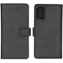 iMoshion Étui de téléphone portefeuille Luxe Galaxy A41 - Noir