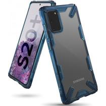 Ringke Coque Fusion X Samsung Galaxy S20 Plus - Bleu