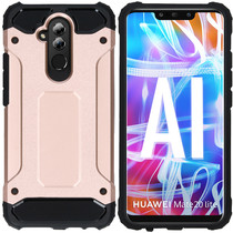 iMoshion Coque Rugged Xtreme Huawei Mate 20 Lite - Rose Champagne