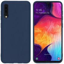 iMoshion Coque Color Samsung Galaxy A50 / A30s - Bleu foncé