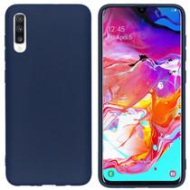 iMoshion Coque Color Samsung Galaxy A70 - Bleu foncé