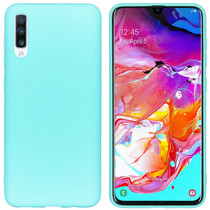 iMoshion Coque Color Samsung Galaxy A70 - Turquoise