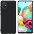 iMoshion Coque Color pour le Samsung Galaxy A71 - Noir