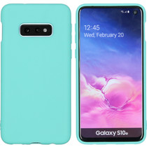 iMoshion Coque Color Samsung Galaxy S10e - Turquoise