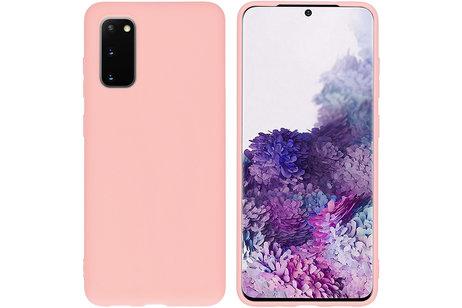 Samsung Galaxy S20 hoesje - iMoshion Coque Color pour