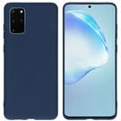 iMoshion Coque Color pour le Samsung Galaxy S20 Plus - Bleu foncé