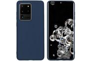 iMoshion Coque Color pour le Samsung Galaxy S20 Ultra - Bleu foncé