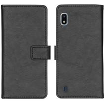 iMoshion Étui de téléphone portefeuille Luxe Galaxy A10 - Noir