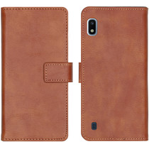 iMoshion Étui de téléphone portefeuille Luxe Galaxy A10 - Brun