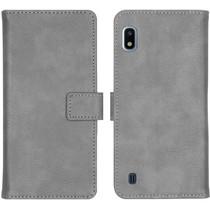 iMoshion Étui de téléphone portefeuille Luxe Galaxy A10 - Gris