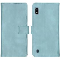 iMoshion Étui de téléphone portefeuille Luxe Galaxy A10 - Bleu clair
