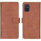 iMoshion Étui de téléphone portefeuille Luxe pour le Samsung Galaxy A71 - Brun