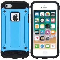 iMoshion Coque Rugged Xtreme iPhone SE / 5 / 5s - Bleu clair