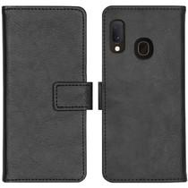 iMoshion Étui de téléphone portefeuille Luxe Galaxy A20e - Noir