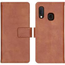 iMoshion Étui de téléphone portefeuille Luxe Galaxy S10e - Brun