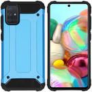 iMoshion Coque Rugged Xtreme pour le Samsung Galaxy A71 - Bleu clair