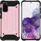 iMoshion Coque Rugged Xtreme pour le Samsung Galaxy S20 - Rose Champagne
