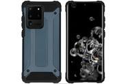 iMoshion Coque Rugged Xtreme pour le Samsung Galaxy S20 Ultra - Bleu foncé
