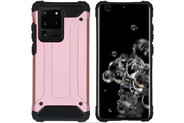 iMoshion Coque Rugged Xtreme pour le Samsung Galaxy S20 Ultra - Rose Champagne