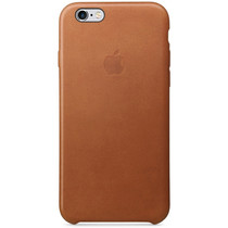 Apple Coque Leather iPhone 6 / 6s - Saddle Brown