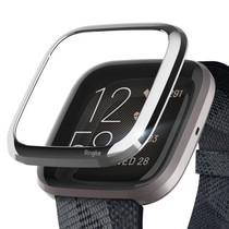 Ringke Style de lunette Fitbit Versa 2 - Argent