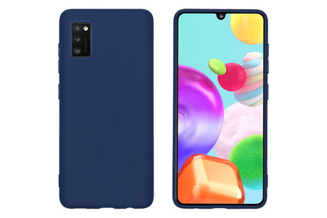 Samsung Galaxy A41 hoesje - iMoshion Coque Color pour