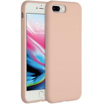 Accezz Coque Liquid Silicone iPhone 8 Plus / 7 Plus - Rose