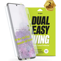 Ringke Duo pack de protections d'écran Wing Easy Galaxy S20 Plus