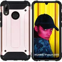 iMoshion Coque Rugged Xtreme Huawei P Smart (2019) - Rose Champagne
