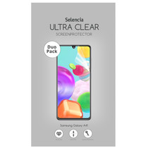 Selencia Protection d'écran Duo Pack Ultra Clear Samsung Galaxy A41