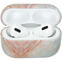 iMoshion Coque hardcover AirPods Pro - Marbre Gris
