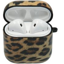 iMoshion Coque en silicone les AirPods - Leopard